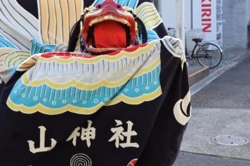 山神社 獅子舞