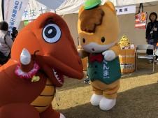 ゆるキャラグランプリ2018in花園 エネゴン ぐんまちゃん