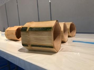 竹細工作り体験