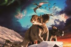 オーロラを見た恐竜たち