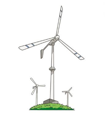 プロペラ型発電