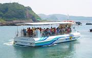 串本海中公園 半潜水型海中観光船 ステラマリス